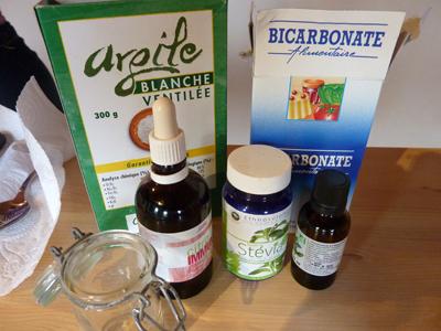 Ingrédients minérals pour produits naturels : Les Ateliers en Herbe