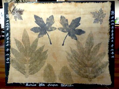 Empreintes végétales en Ateliers : Les Ateliers en Herbe
