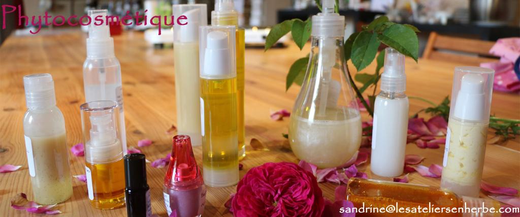 Ateliers de fabrication de produits phyto-cosmétiques - Les Ateliers en Herbe