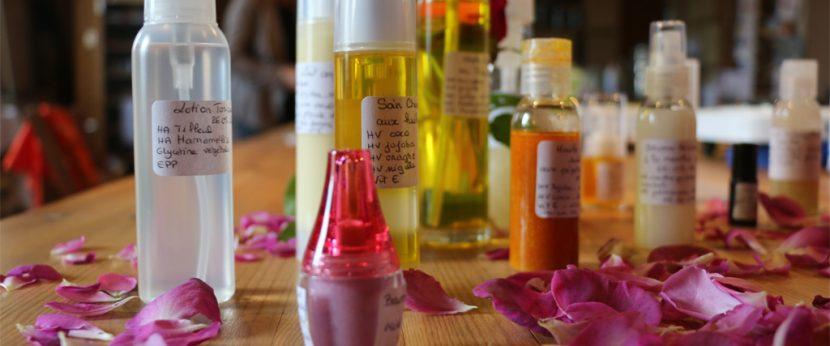Ateliers de fabrication de produits phyto-cosmétiques, les Ateliers en Herbe.