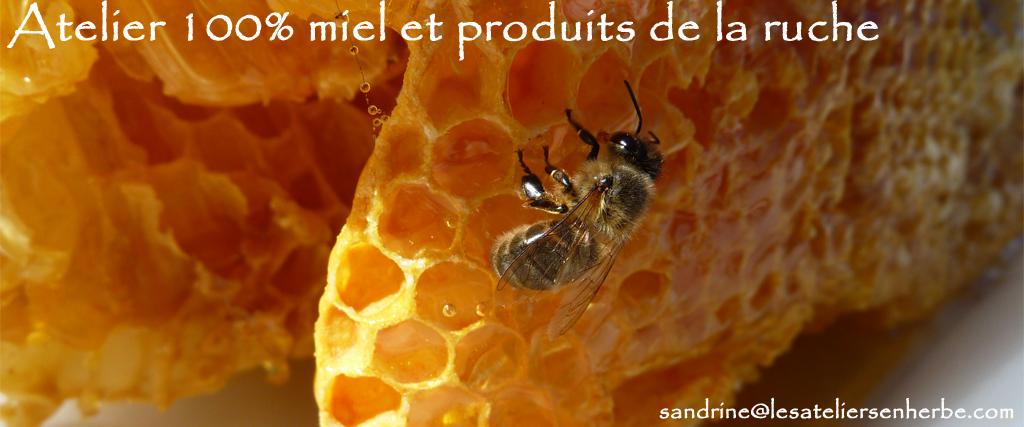 Atelier 100% miel et produits de la ruche - Les Ateliers en Herbe