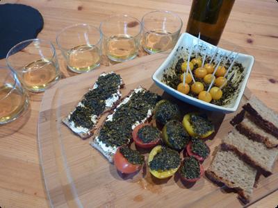 Pesto de plantes et cuisine sauvage : Les Ateliers en Herbe