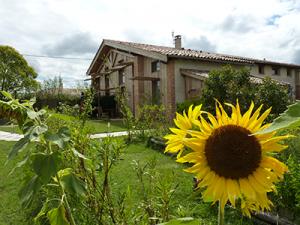 Ecogite de Baugnac et son jardin