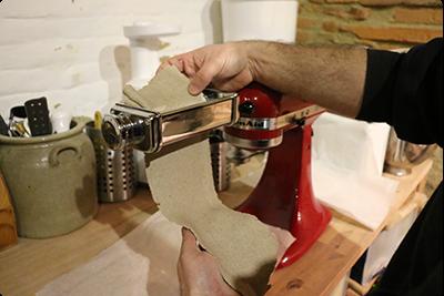 Modelage farine de sarrasin : Ruche Est Toulouse