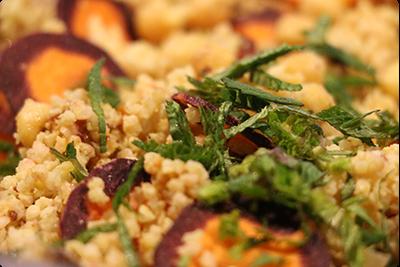 Salade légumineuse et céréale : Ruche Est Toulouse