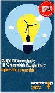 Enercoop, l'électricité citoyenne.