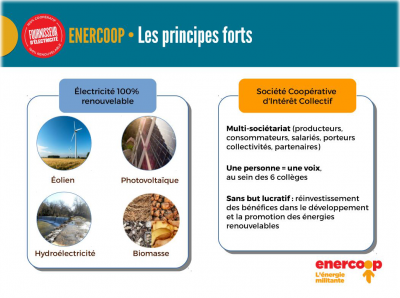 Principes Enercoop - Les Vendredis de la Ruche Est-Toulouse