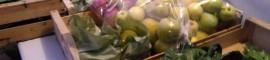Fruits et légumes de saison à la Ruche de Flourens.