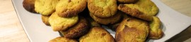 Sablés à la farine de lentille de la Ferme des Bouviers.