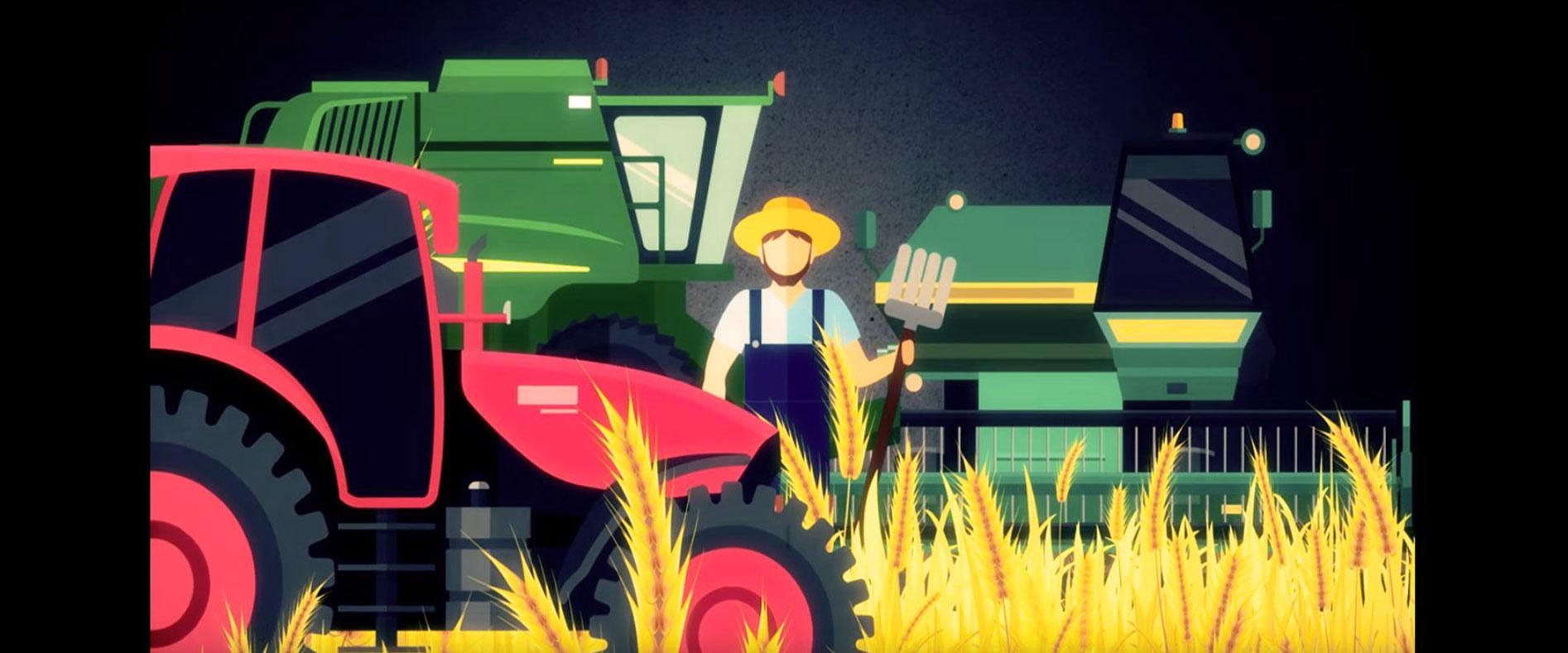 Agriculture industrielle, produire à mort.