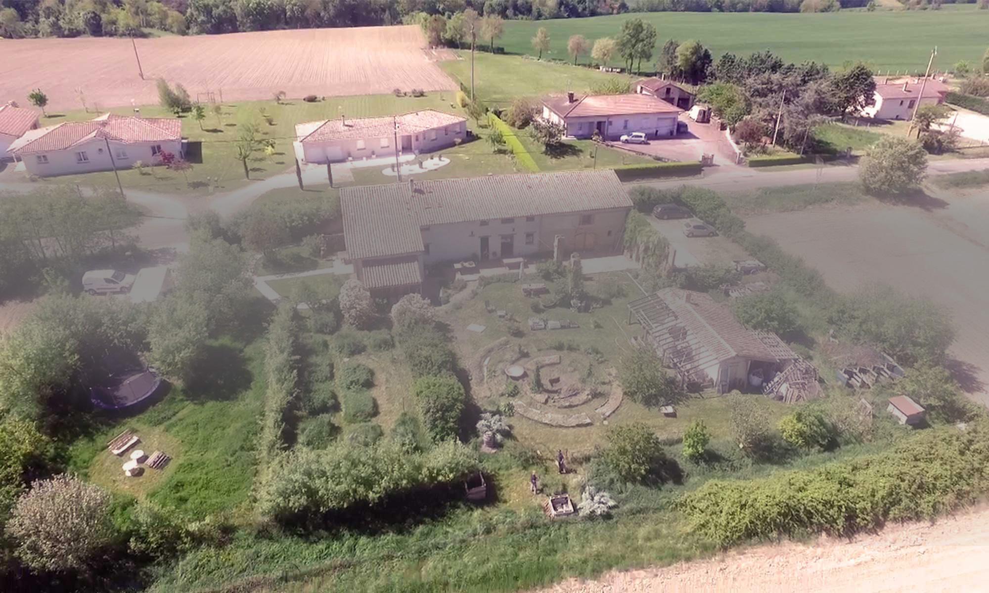 Jardins de Baugnac, site des Ateliers en Herbe.