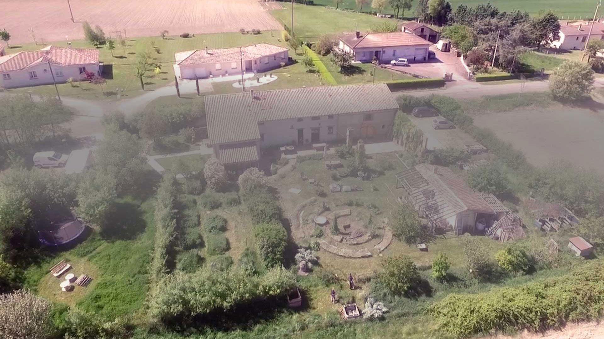 Jardins de Ateliers en Herbe à côté de Toulouse