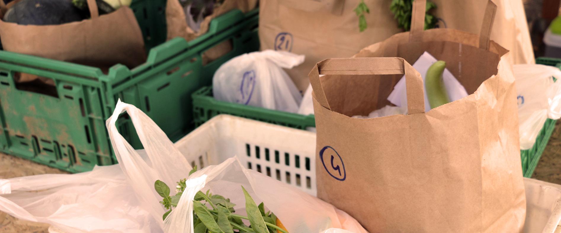 Zéro waste, distribution de Flourens et Lavalette