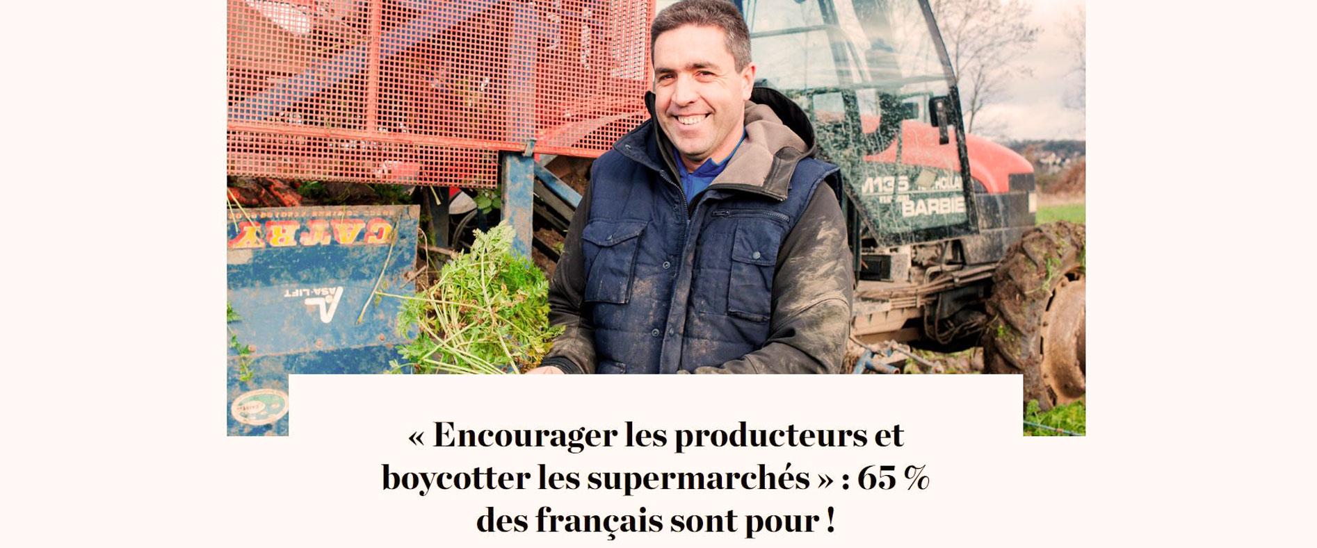 Boycotter les supermarchés par La Relève et La Peste.