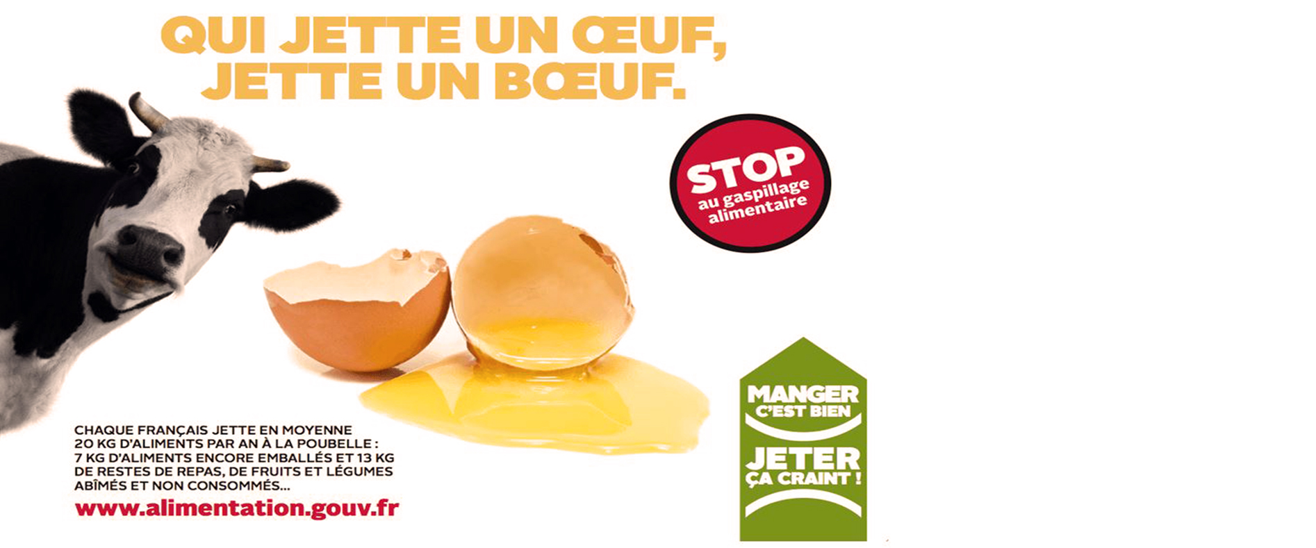 Luttons contre le gaspillage alimentaire !
