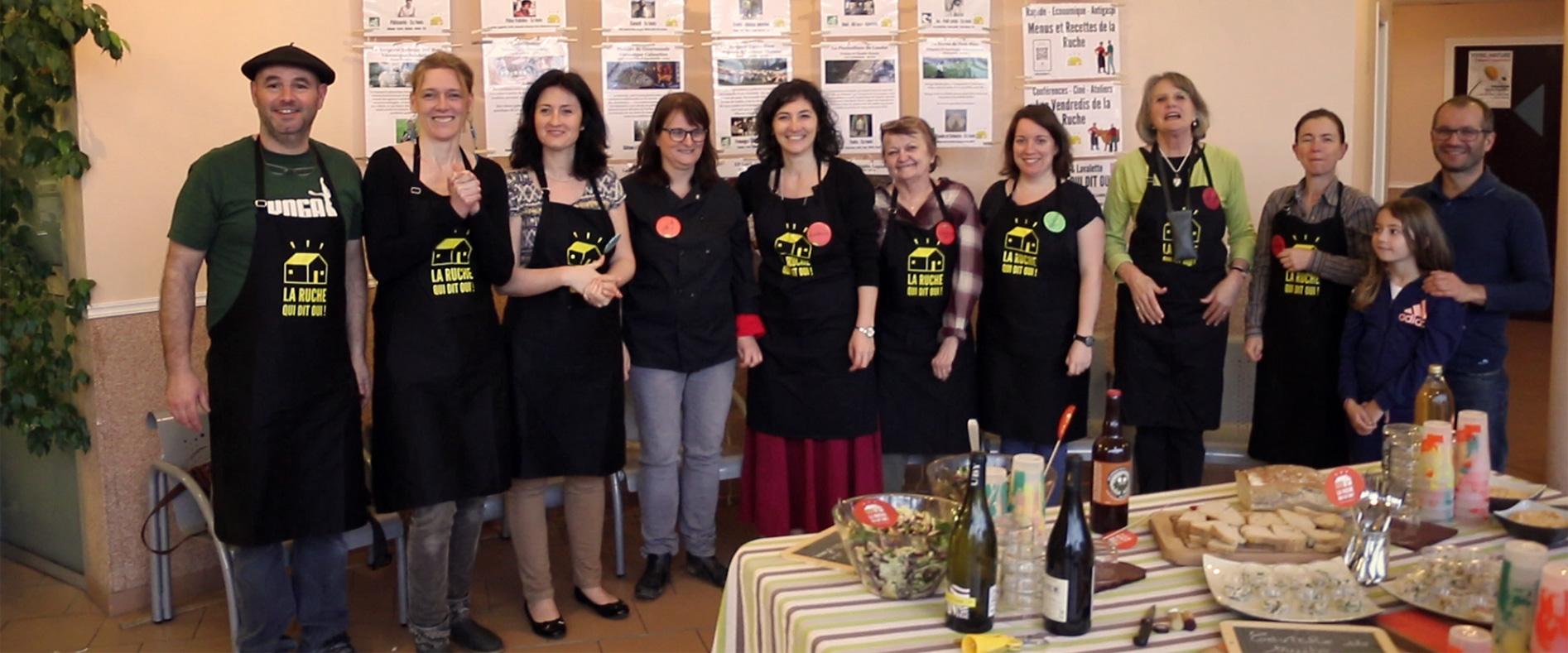 Apéruche et atelier cuisine à la Ruche de Flourens