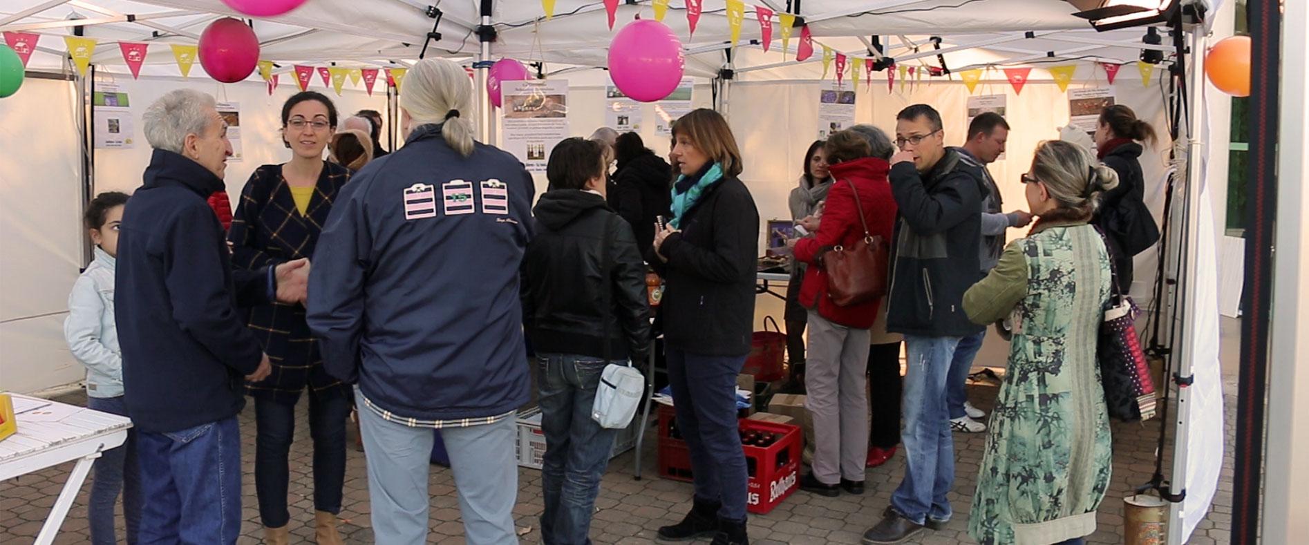 Distribution de la Ruche qui dit Oui! à Flourens.