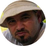 Franck Terras, bénévoles des Ateliers en Herbe.